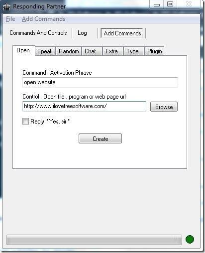 Responding Partner-add command