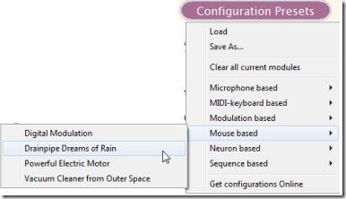 RolloSonic-Configuration Preset