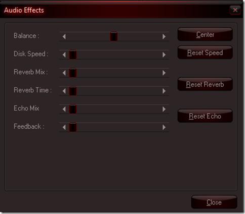 SMP3 audio editing