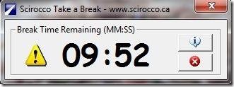 Scirocco Take a Break-Break Timer
