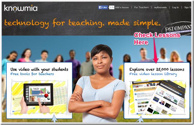 Knowmia Homepage