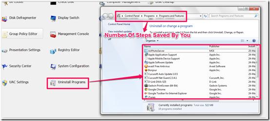 Using Windows Access Panel