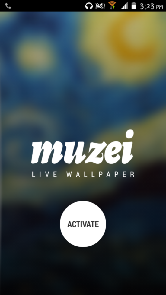 Set Great Pieces Of Art As Background Muzei Live Wallpaper For Android