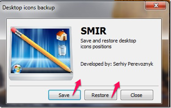 Smir user interface