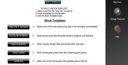 The Web Blocker- block websites temporarily