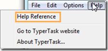 TyperTask-HelpReference