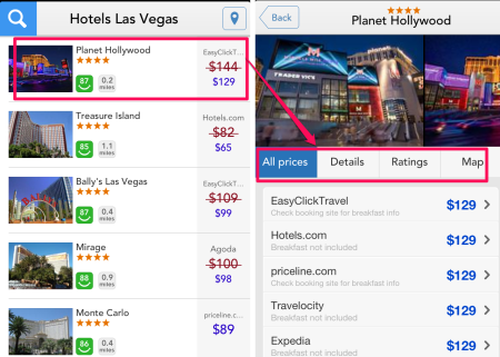 Checking Hotels For Deals