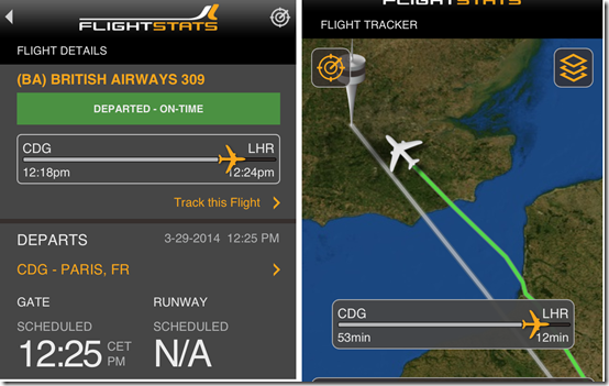 Flight Tracking Apps For iPhone