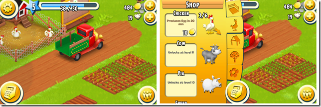 Playing Hay Day