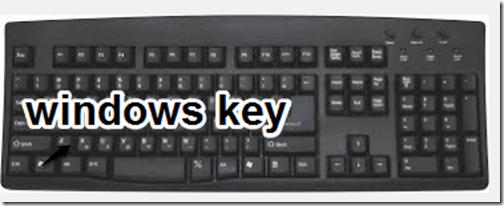 Windows key keyboard
