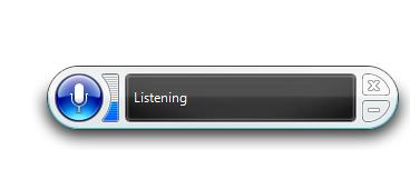 Windows speech recognition software
