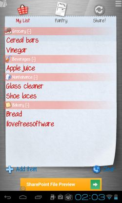 android shopping list apps 5