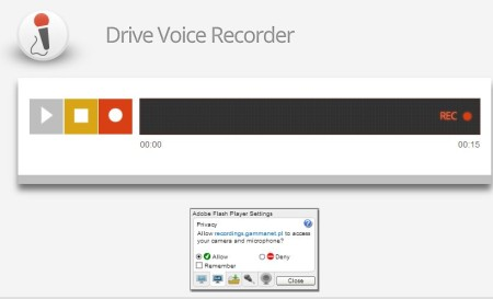 audio recorder extension google chrome 1