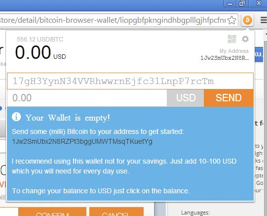 bitcoin wallet extensions google chrome-8