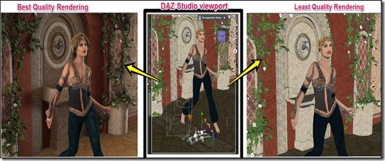 daz studio rendering quality