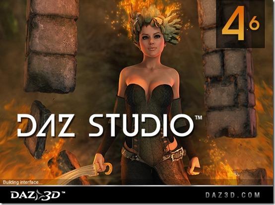 daz studio start up