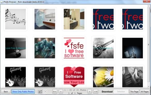 flickr downloadr- download Flickr Photos