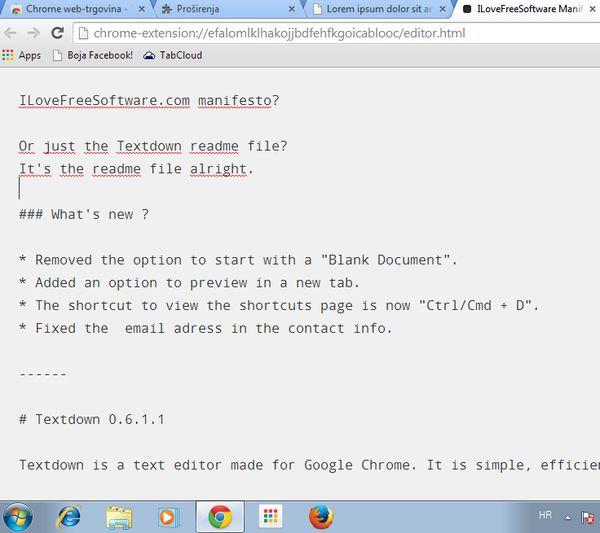 offline text editor extensions app google chrome-6