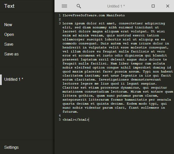 offline text editor extensions app google chrome-8