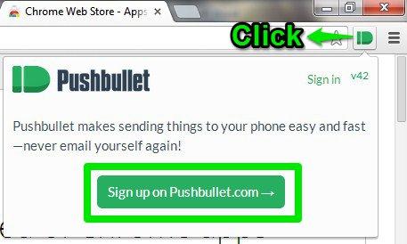 open pushbullet