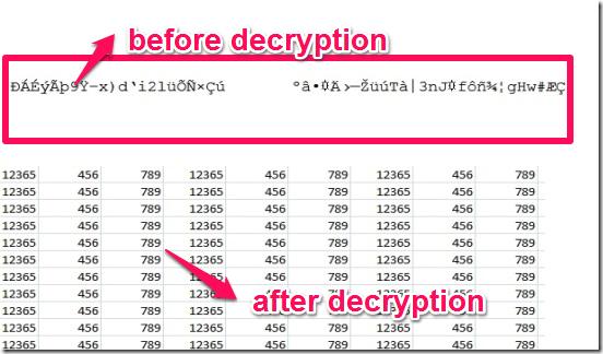 pfencryptor file decryption