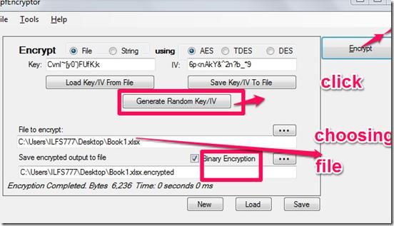 pfencryptor file encryption