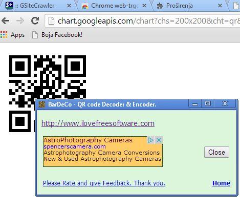 qr decorder extensions google chrome-3