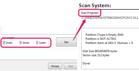 scan system
