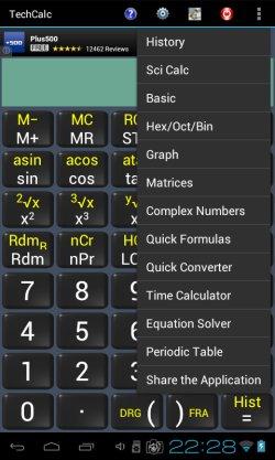 scientific calculator apps android 5