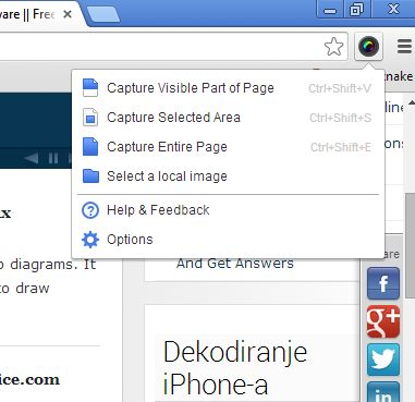screenshot page entire google chrome