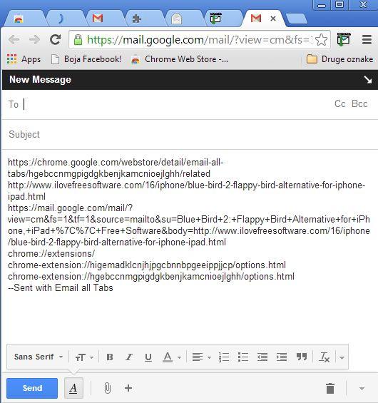 send links via email google chrome extensions-4