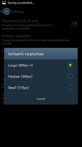 set resolution muzei music extension
