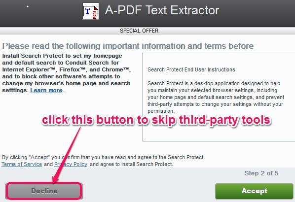 skip third-party tools