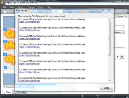 slicr html