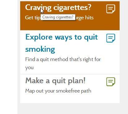 smokefree gov- help quit smoking