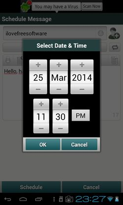 sms scheduler apps android 3