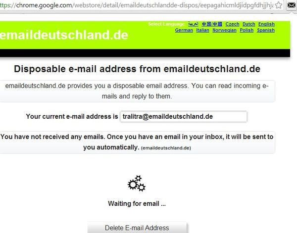 temporary email extensions google chrome 1
