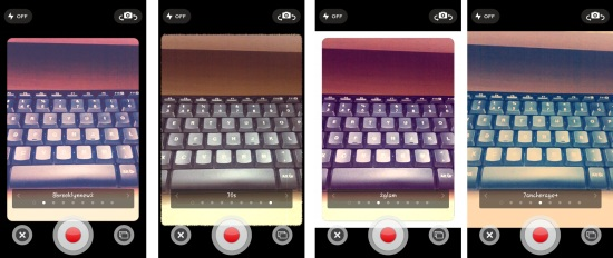 video effects on socialcam for android