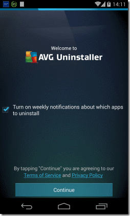 AVG Uninstaller Android