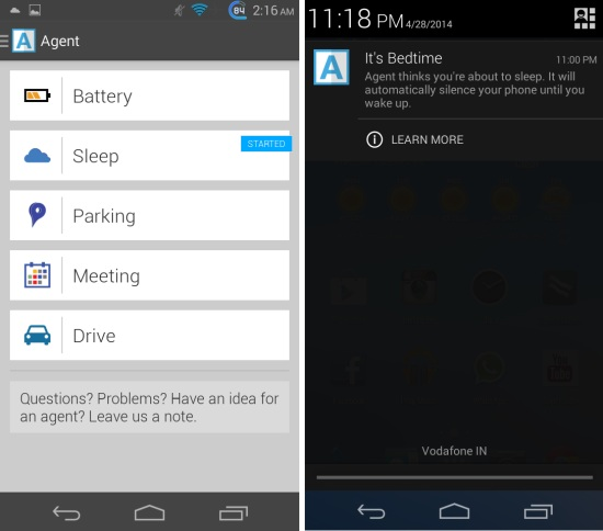 Agent For Android 5-In-1 App For Saving Battery And Automating Common Tasks
