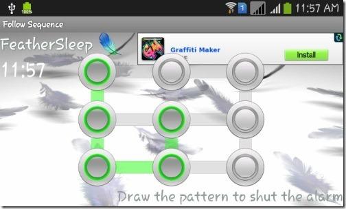 Alarm Puzzle- Feather Sleep