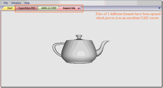 AnyCAD Viewer-Opened File