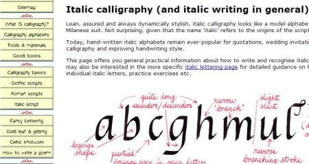 Calligraphy Skills