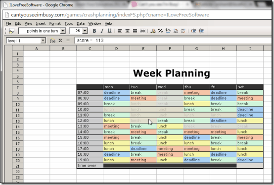 CantYouSeeImBusy Crash Planning