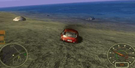 City Racing bumped car.