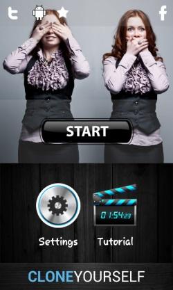 Clone Yourself Camera Free-start to create