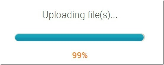 Copy direct sharing upload