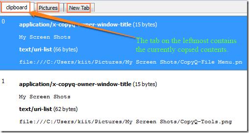 CopyQ-MultipleTabs
