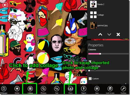 Custom GraFix- Add collage