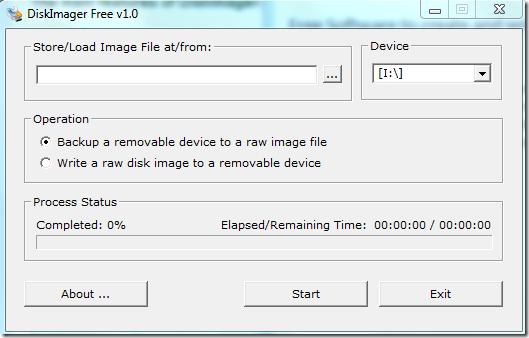 DiskImager-HomeScreen